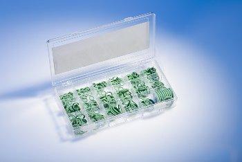O-RING-BOX Y HNBR70 grün